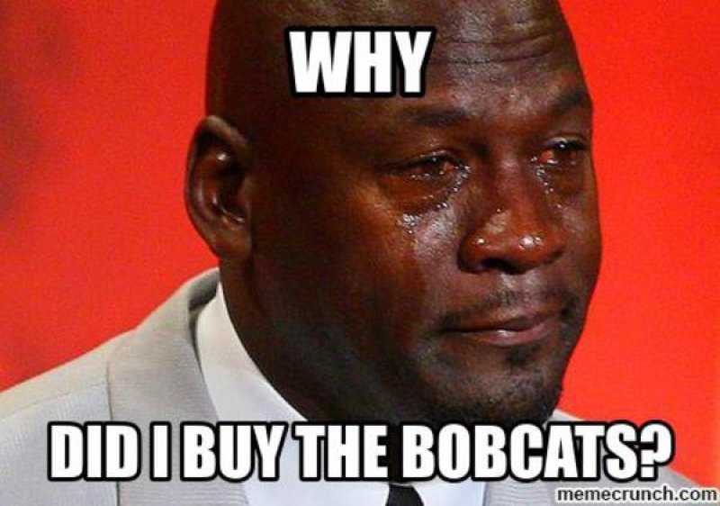 Why Did I Buy Bobcats?-12 Funny NBA Memes That Will Make Your Day