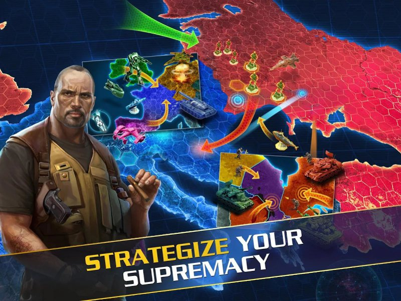 World At Arms-12 Best War Strategy Games For IOS And Android