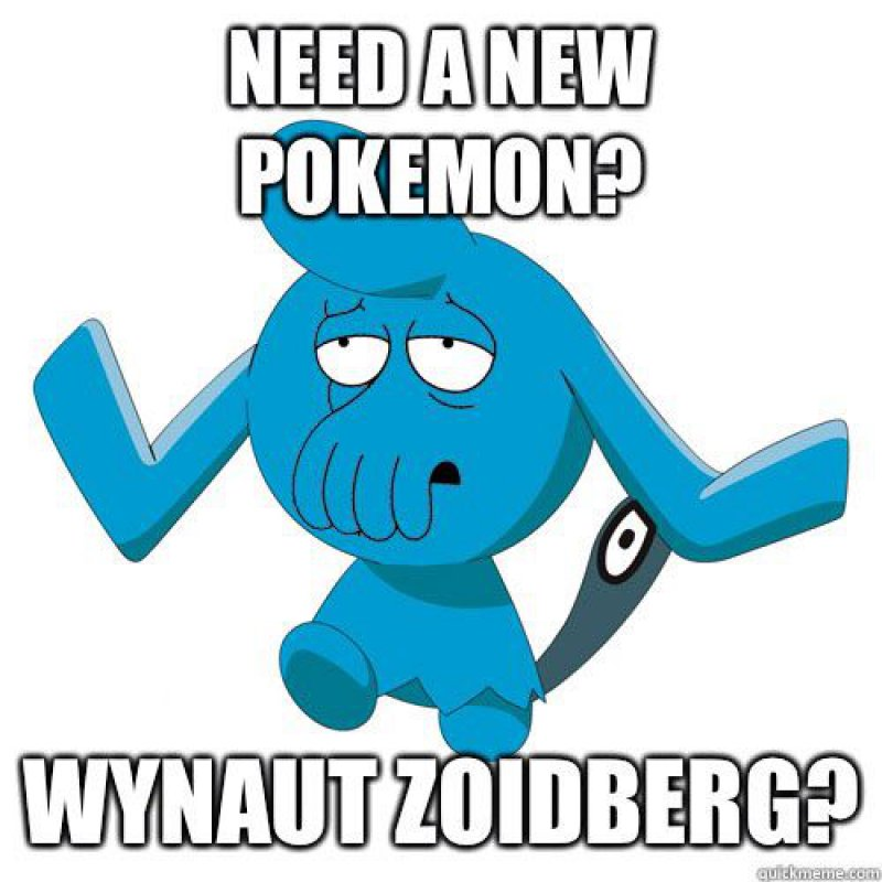 Wynaut Zoidberg?-12 Hilarious Pokemon Puns That Are Sure To Make You Lol