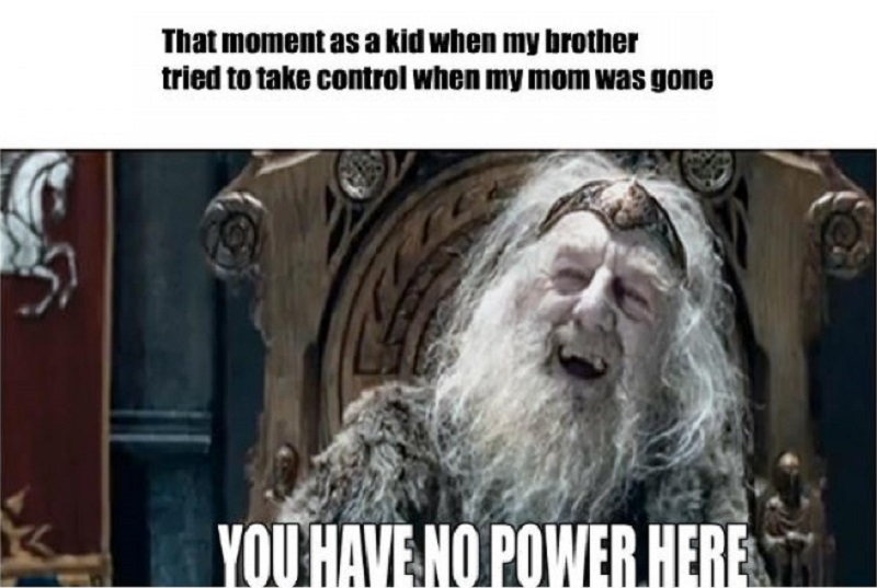 You Have No Power Here, Brother!-12 Funny You Have No Power Here Memes