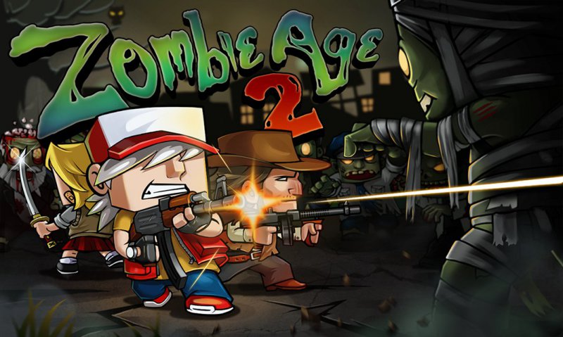 Zombie Age 2-12 Best Zombie Survival Games For IOS And Android