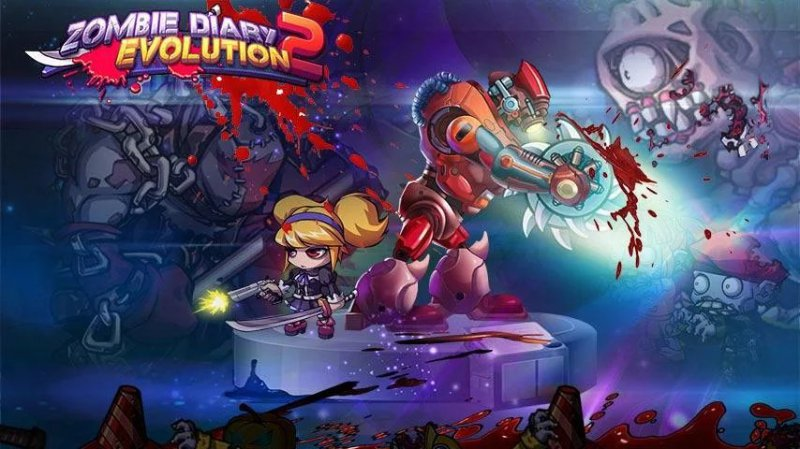 Zombie Diary 2: Evolution-12 Best Zombie Survival Games For IOS And Android