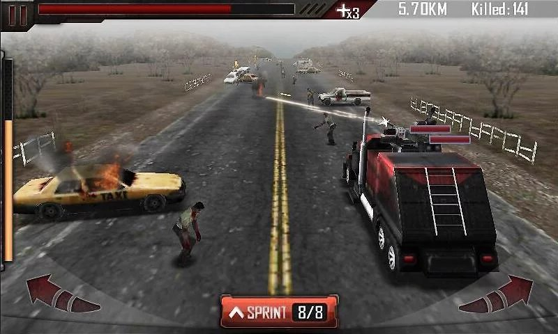 Zombie Road Kill 3D-12 Best Zombie Survival Games For IOS And Android