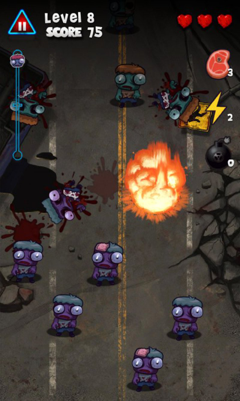 Zombie Smasher-12 Best Zombie Survival Games For IOS And Android