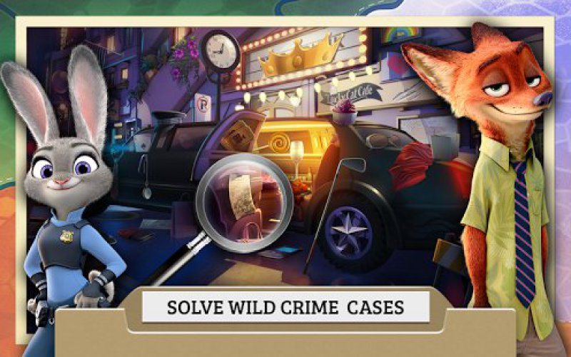 Zootropolis Crime Files-12 Best Crime Investigation Games For Mobile
