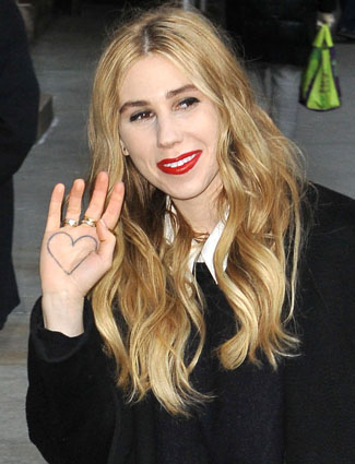 Zosia Mamet-Worst Celebrity Tattoos Ever
