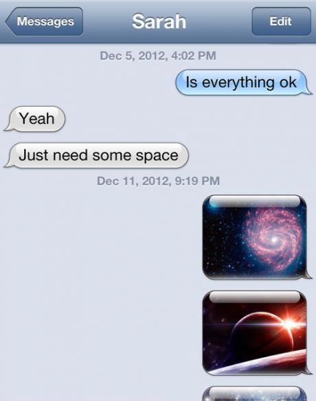 Take it, Some Space-15 Hilarious Texts From Exes That Will Make You Lol