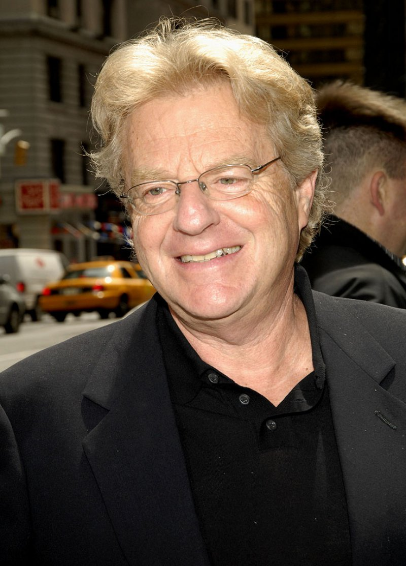 Jerry Springer-12 Celebrities That Were Caught With Hookers