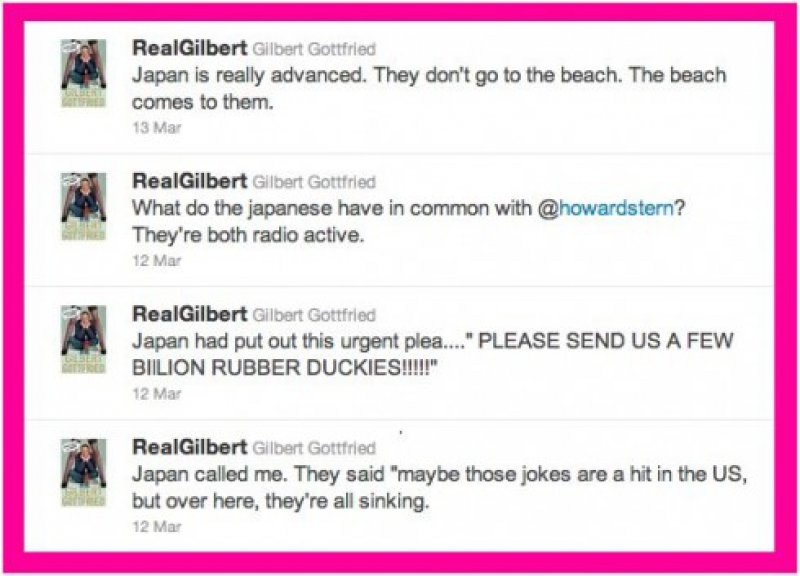 Aflac Fired Comedian Gilbert Gottfried Over Tsunami Jokes-15 People Who Got Fired Because Of Social Media