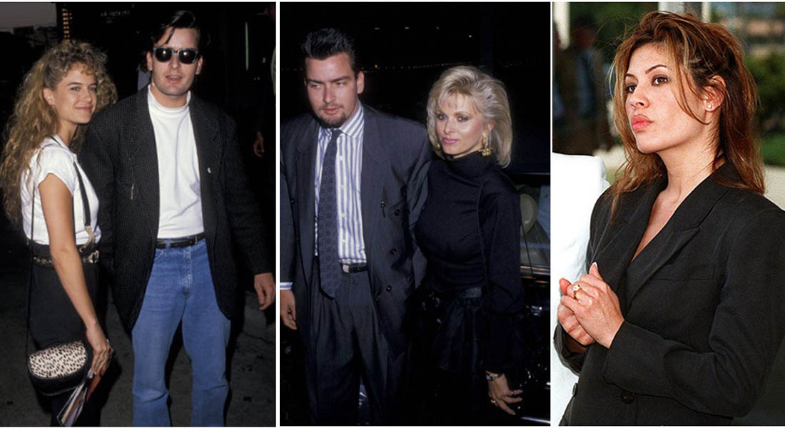 Charlie Sheen And His 13 Well Known Girlfriends