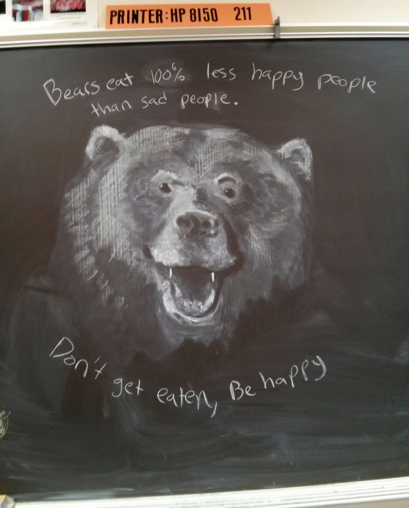 This Amazing Art by a Teacher-15 Awesome Teachers Everyone Would Like To Have