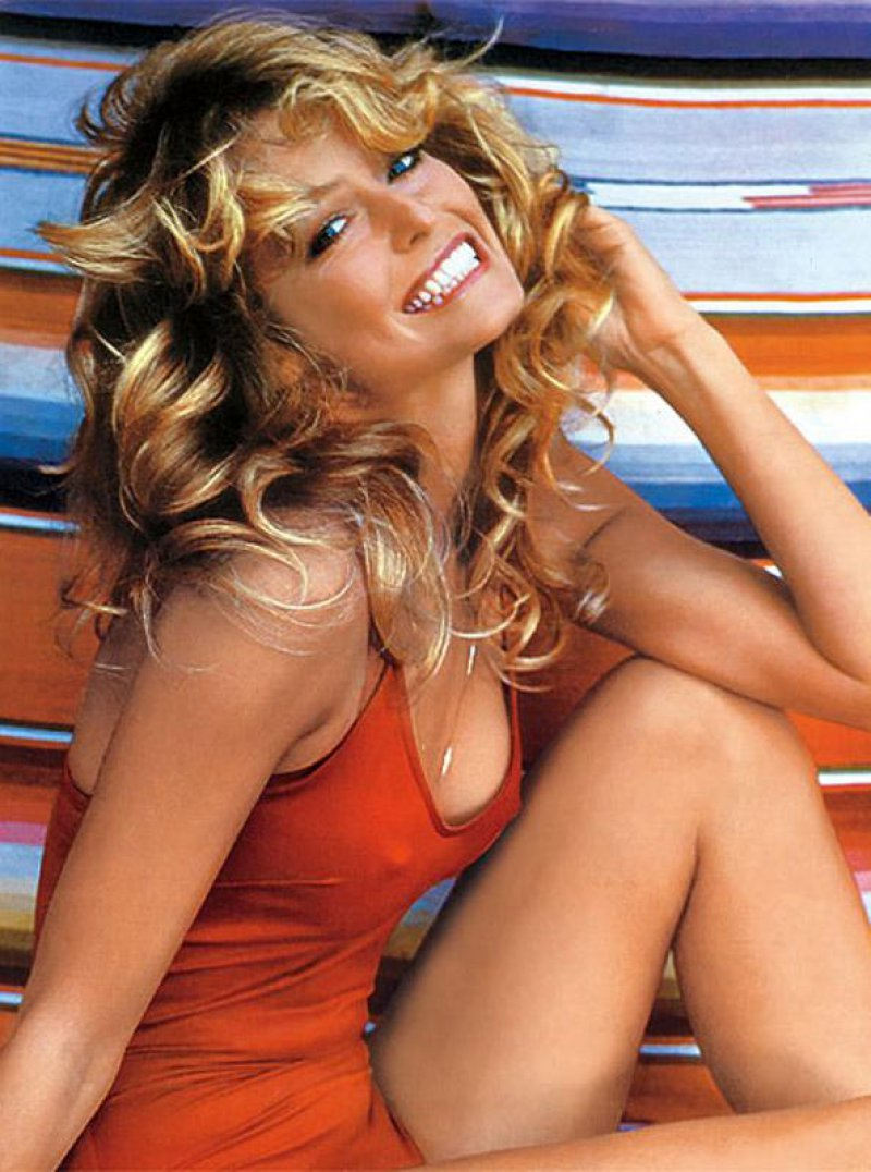 Farrah Fawcett - Clothes Stealer-12 Celebrities Who Got Caught Shoplifting