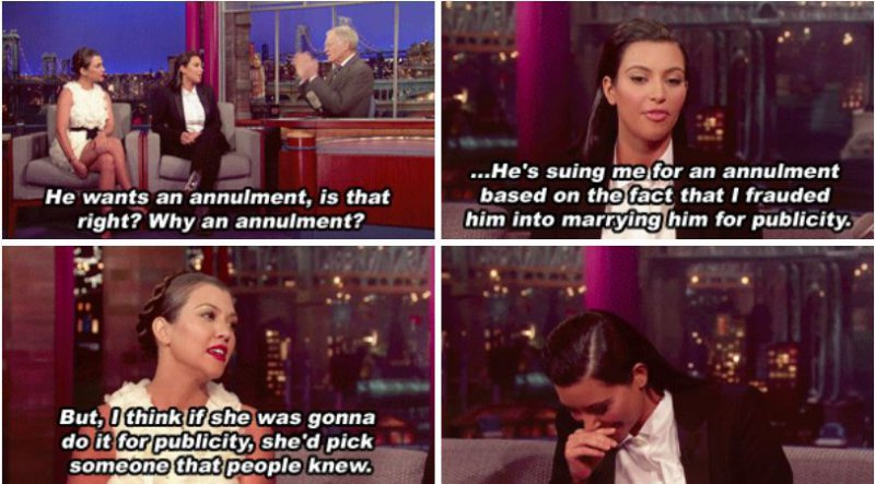 When She Defended Her Sister on National Television-15 Images That Show Kourtney Kardashian Is A Completely Hilarious Bitch