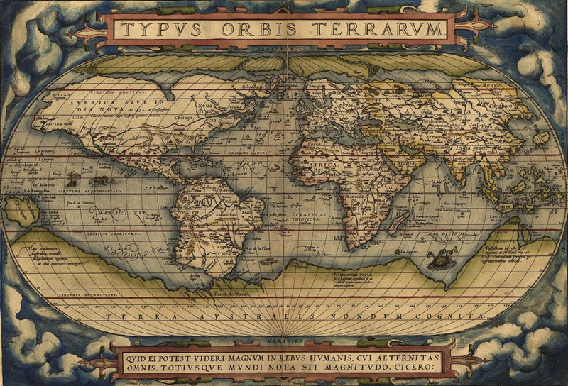 This Map is Considered as First Modern Atlas-15 Maps That Will Change The Way You See The World