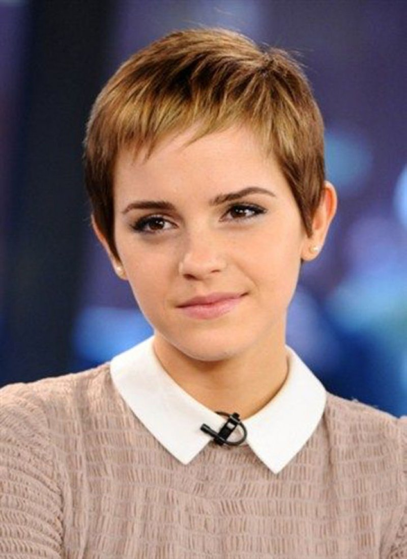 Her Response When Everyone Questioned about Getting a Pixie Cut-15 Reasons Why Emma Watson Is The Perfect Beauty With Brain Girl