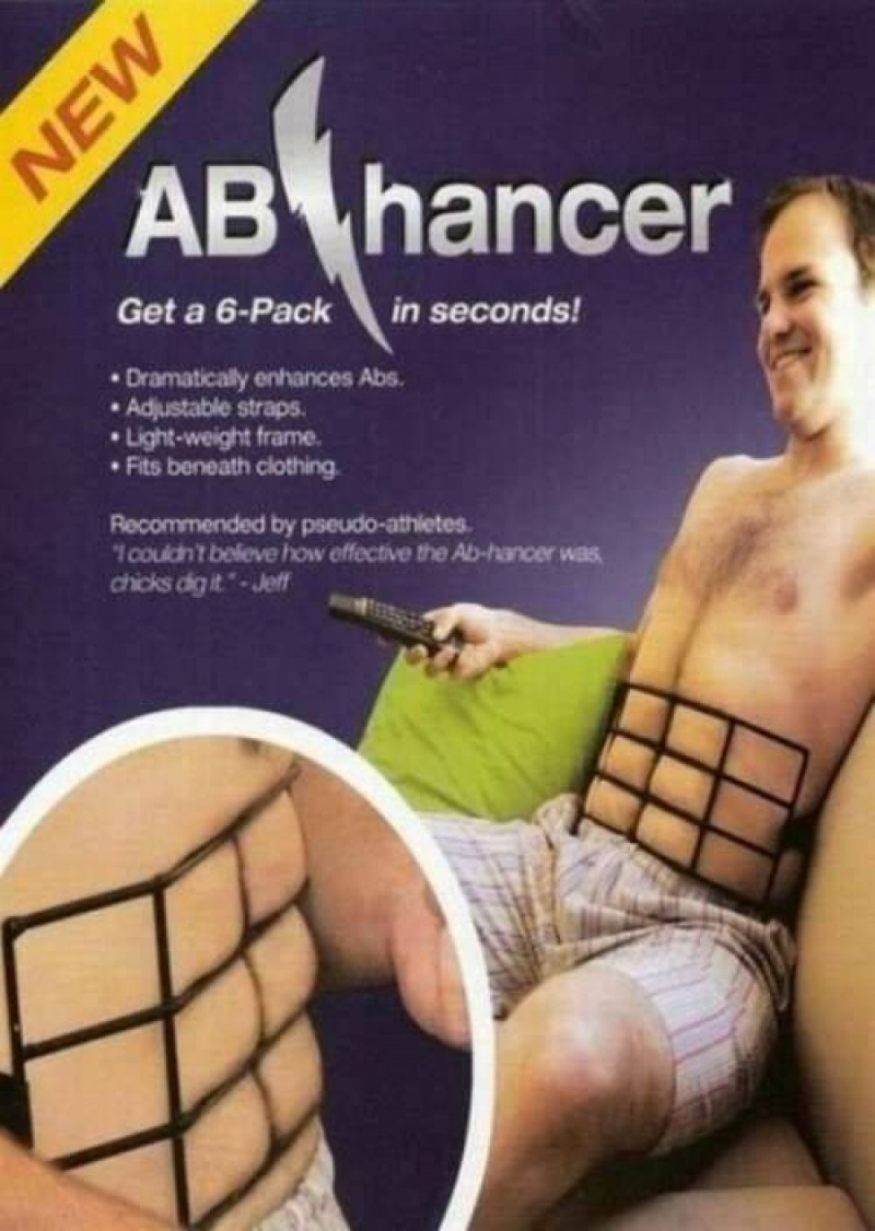 Instant Six Pack, Delivered-15 Most Inappropriate Products Ever Made