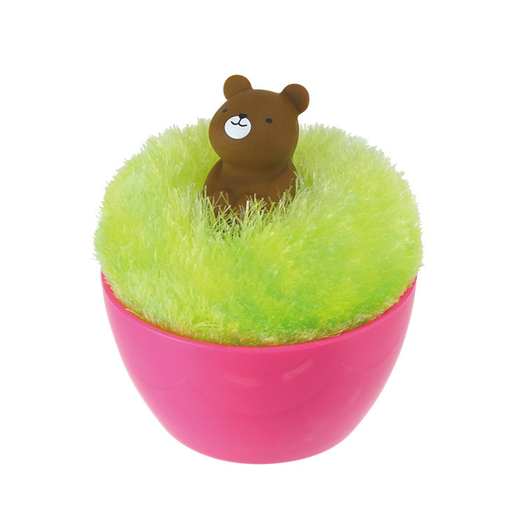 This Fluffy Keyboard/Screen Dusting Ball-15 Cute Desk Accessories For Your Office
