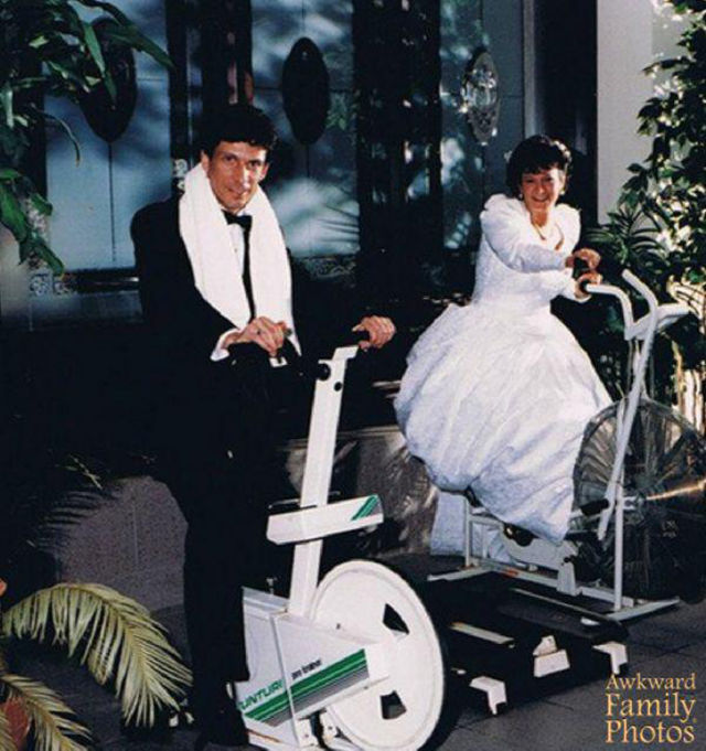 This Fitness Wedding-15 Most Bizarre Themed Weddings Ever