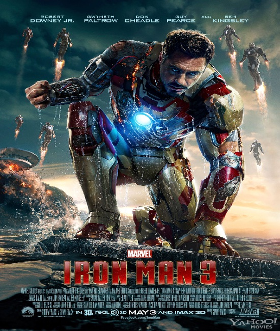 Iron Man 3-Best Movies Released In 2013 Till Now