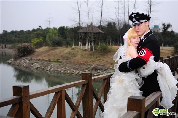 This Crazy Nazi Wedding Theme-15 Most Bizarre Themed Weddings Ever