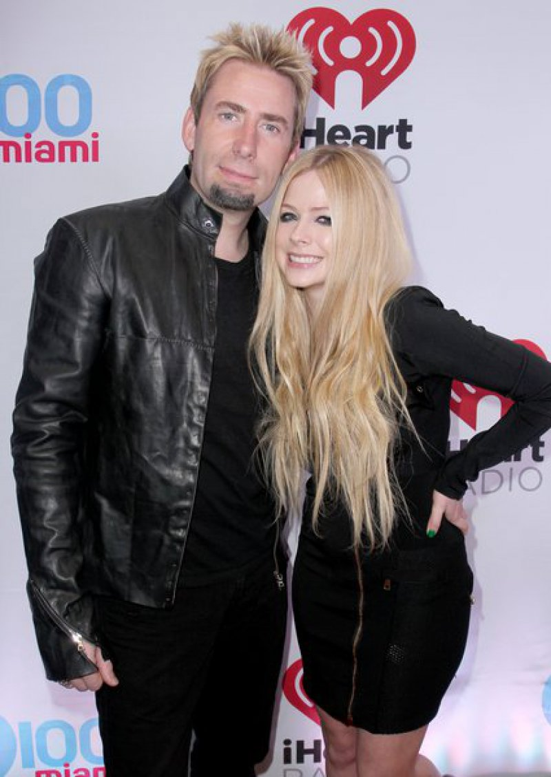 Avril Lavigne & Chad Kroeger-15 Surprising Celebrity Divorces In 2015