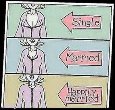 The Way You Dress Yourself Changes-15 Images That Show Striking Difference Between Single And Married Life