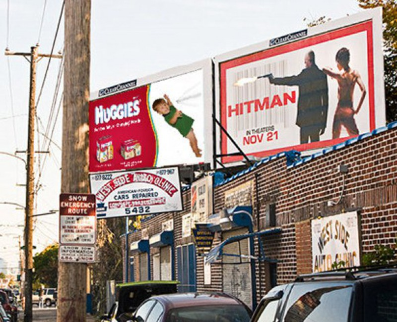 Something is Really Wrong with These Hitman and Huggies ads-15 Times Placement Ruined Everything