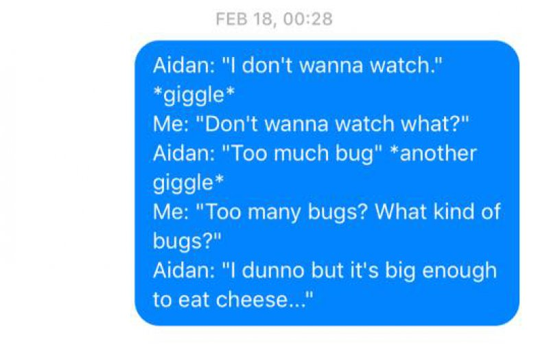 Too Much Bug!-Wife Texts All The Things Her Husband Says In His Sleep(12 Photos)