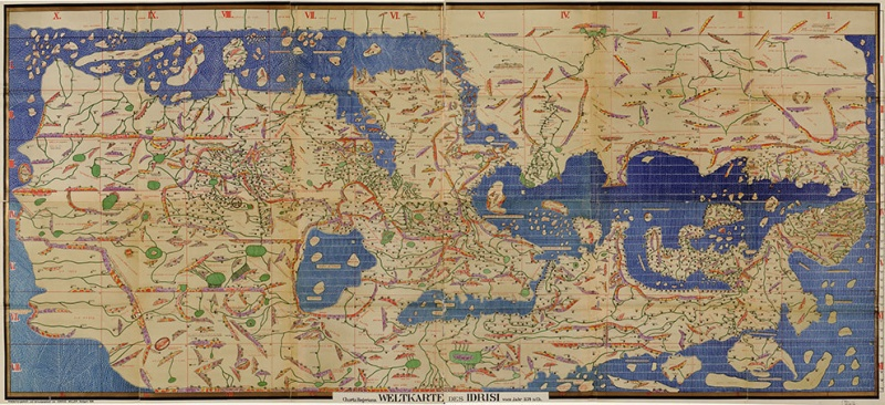 World Map by Muhammad Al-Idrisi-15 Maps That Will Change The Way You See The World