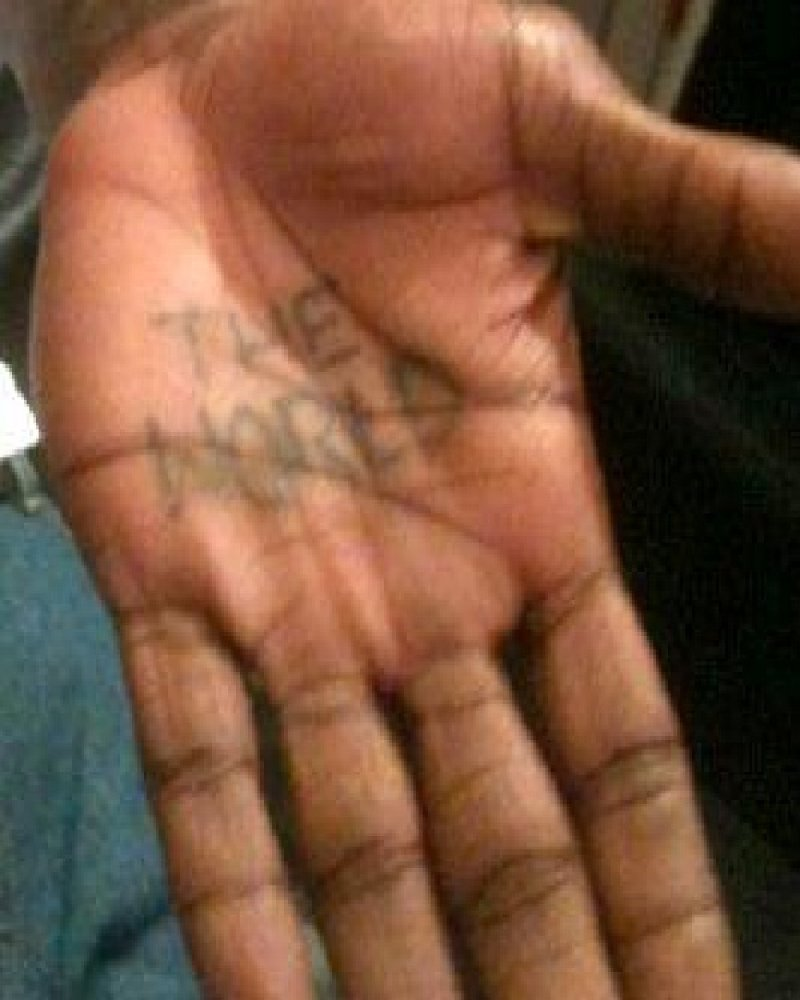 The World In The Palm Of His Hand-15 Bizarre Lil Wayne's Tattoos And Their Meanings