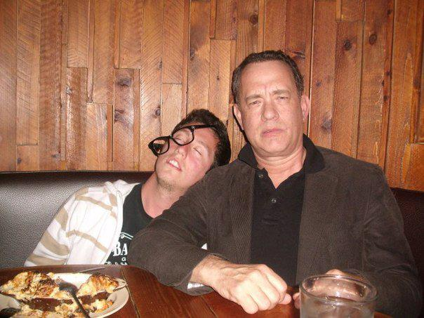 Tom Hanks Being Bro Letting Fan Pretend to be Drunk and Passed Out-12 Times When Bros Saved Another Bro