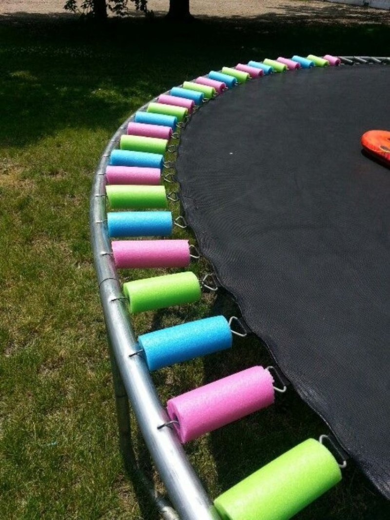 Making Trampoline Safer-15 Parenting Hacks That Will Make You Super Parents