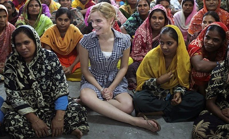 She is Working to Promote 'Sustainable Fashion.'-15 Reasons Why Emma Watson Is The Perfect Beauty With Brain Girl