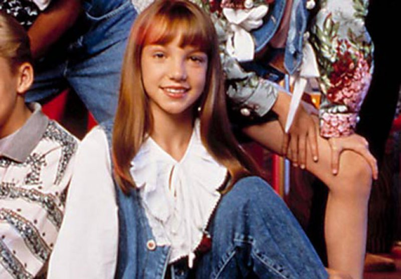Britney Spears-15 Popular Disney Channel Stars Then And Now