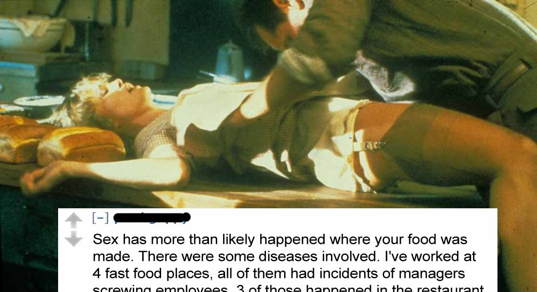 15 Fast Food Confessions That Will Make You Gross Out
