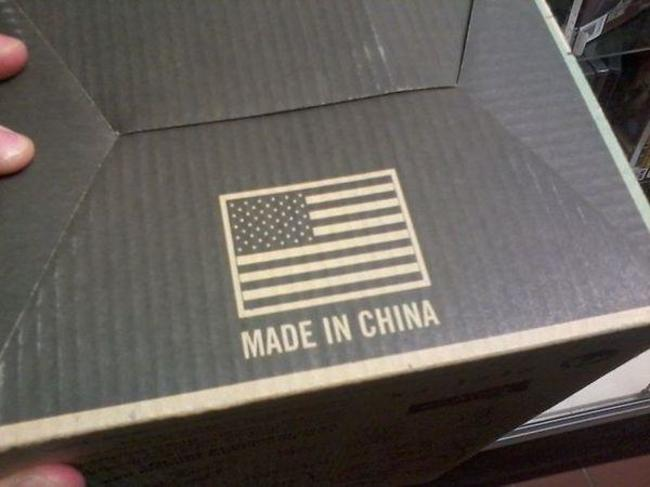 Product Made in China Including the American Flag-15 Images That Will Give You Real Trust Issues
