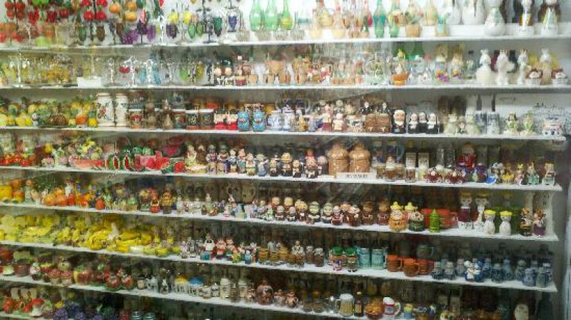 Museum of Salt and Pepper Shakers, Gatlinburg, Tennessee -15 Weirdest Museums Around The World