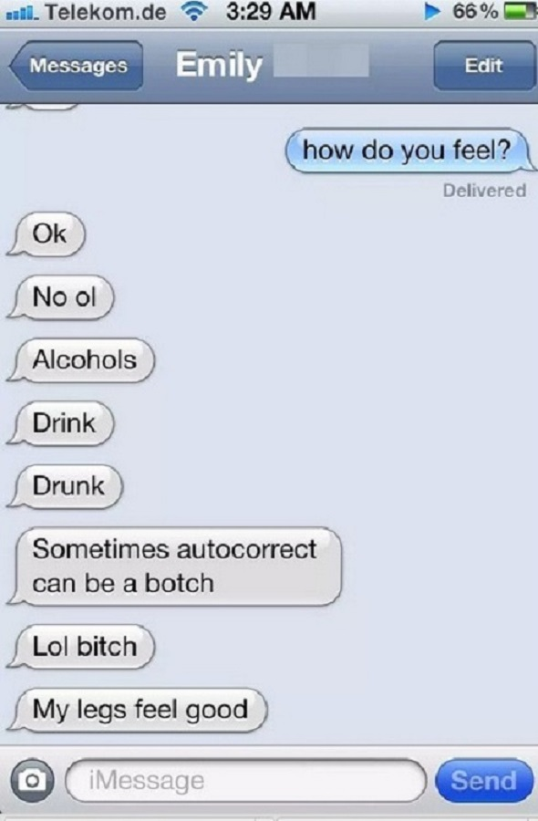 Drink, Drunk, Drank-15 Funniest Drunk Texts That Will Make You Lol