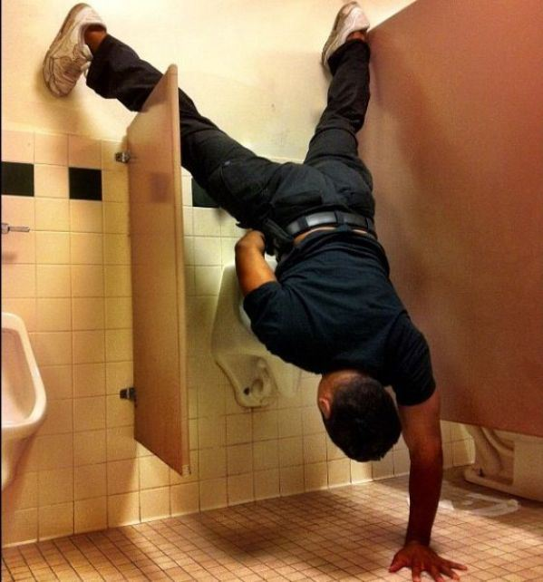 Peeing Like a Boss-15 Strangest Moments Ever Caught In Restrooms