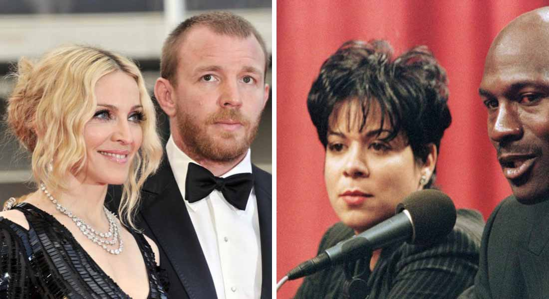 12 Most Expensive Celebrity Divorces Ever