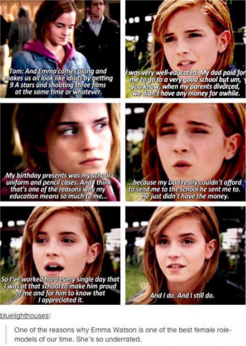 A Proof Why Everyone Calls Her A Beauty with Brains-15 Reasons Why Emma Watson Is The Perfect Beauty With Brain Girl