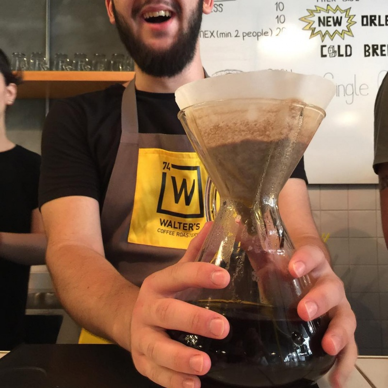 A Barista Brewing Coffee-Breaking Bad Coffee Shop Is The Best Coffee Shop You Will Ever See