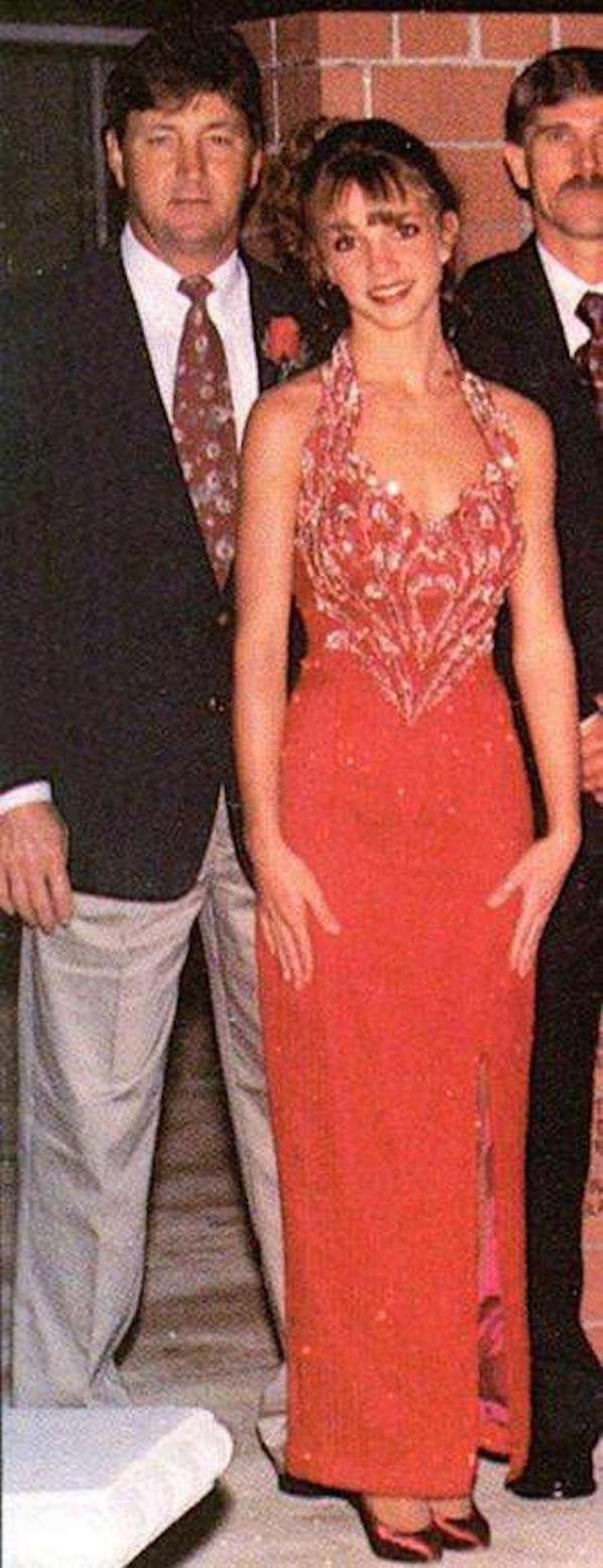 Britney Spears Prom Date Photo-15 Rare Unseen Celebrity Prom Photos