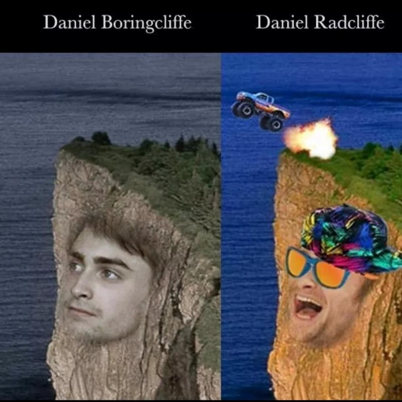 Daniel Radcliffe-15 Celebrity Name Puns That Are Hilarious