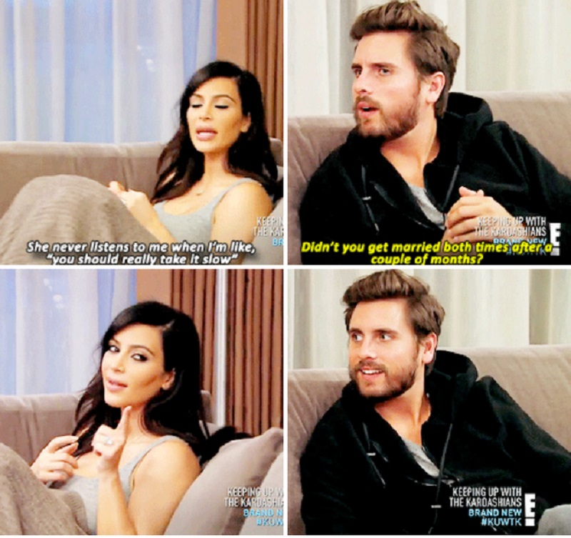 When Scott Disick Reminds Kim Her Dating History-15 Times Kim Kardashian Was Shut Down By Her Family