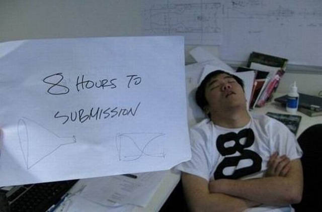 How Not to Deal with Deadlines-15 People Who Were Caught Taking A Quick Nap At Work