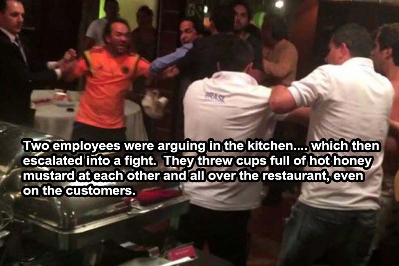 Fight Between the Restaurant Employees-15 Servers Reveal The Craziest Things That Happened In Restaurants