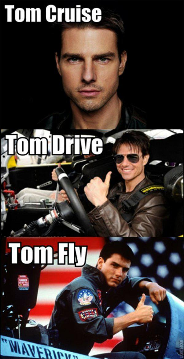 Tom Cruise-15 Celebrity Name Puns That Are Hilarious