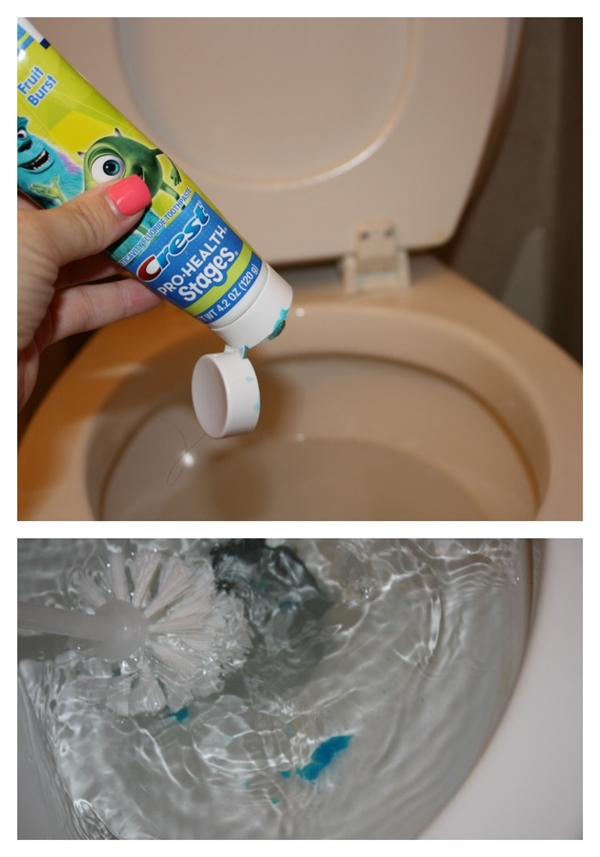 Yes, a Good Toilet Cleaner too-15 Unusual Uses For Toothpaste
