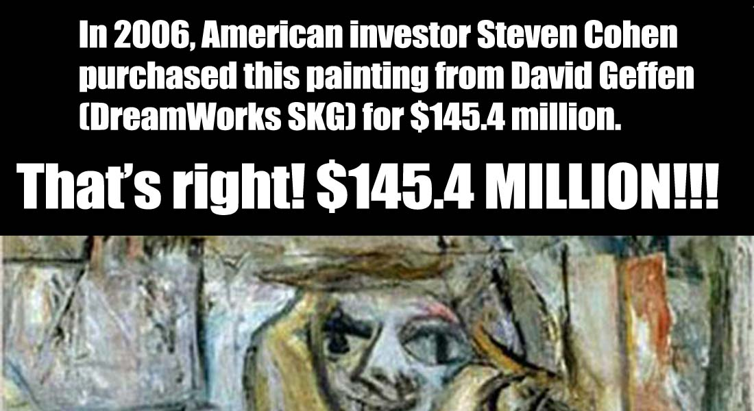 15 Ridiculous Paintings Sold for Millions of Dollars